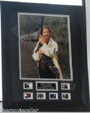 (A)  KURT RUSSELL SIGNED 'TOMBSTONE' SIGNED FRAMED AUTHENTIC #mckrtp3